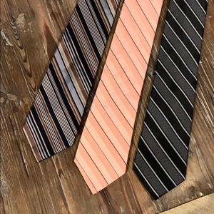 Calvin Klein (3) neck ties